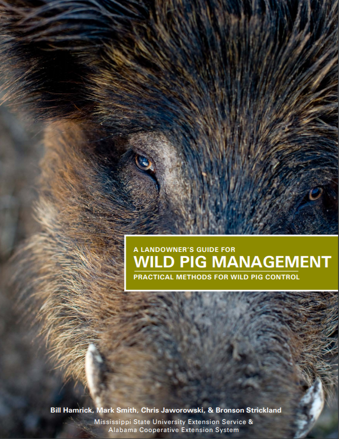 A Landowners Guide for Wild Pig Management